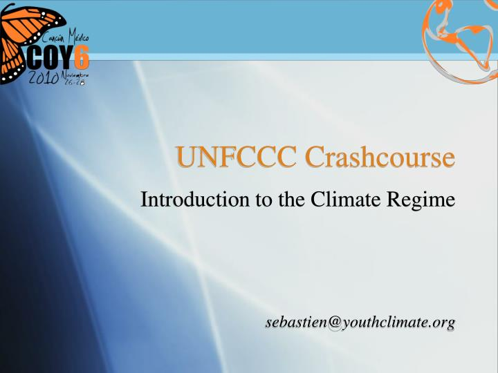 unfccc crashcourse n.