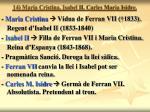 14 maria cristina isabel ii carles maria isidre