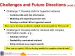 challenges and future directions cont2
