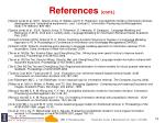 references cont4