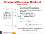 structured document retrieval ogilvie callan 03