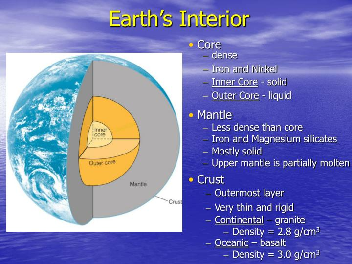 Earth s interior