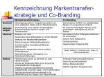kennzeichnung markentransfer strategie und co branding