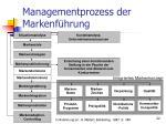 managementprozess der markenf hrung