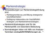markenstrategie