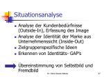 situationsanalyse