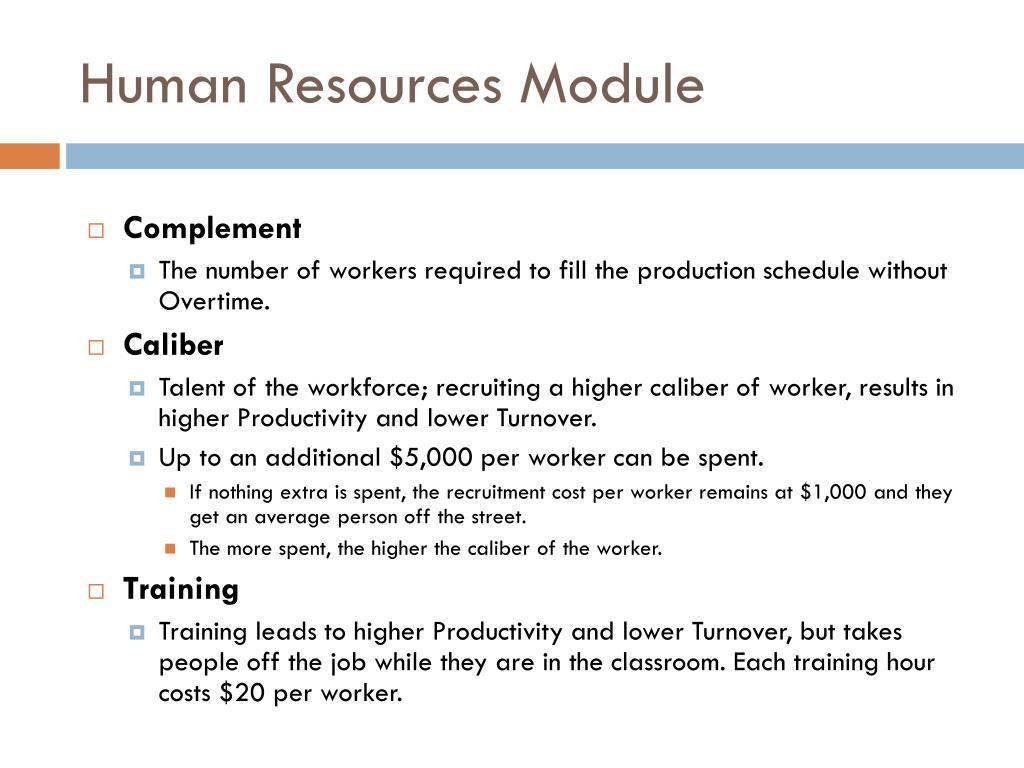 PPT - Human Resources – Year 2 TQM – Year 4 PowerPoint Presentation