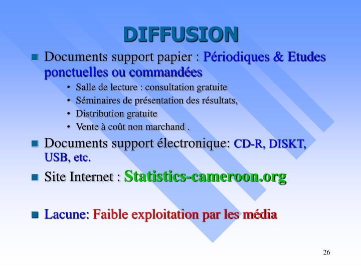 liste des organisations internationales au cameroun pdf