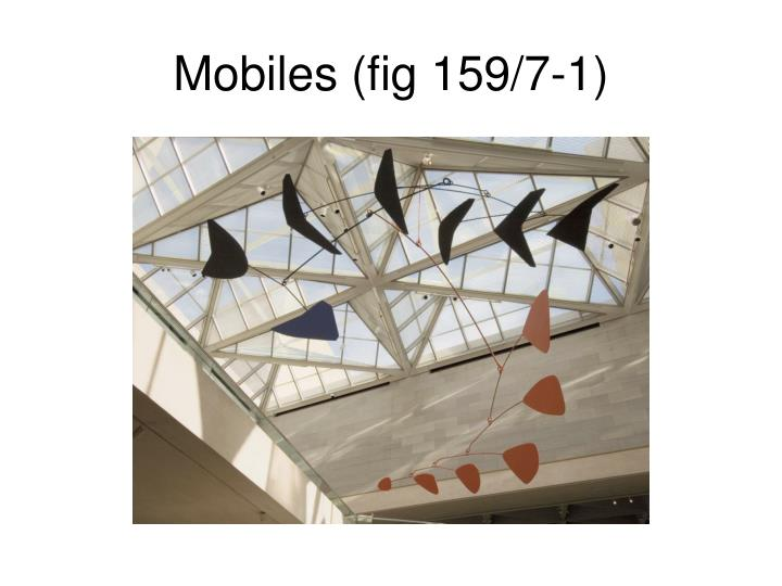 Mobiles (fig 159/7-1)