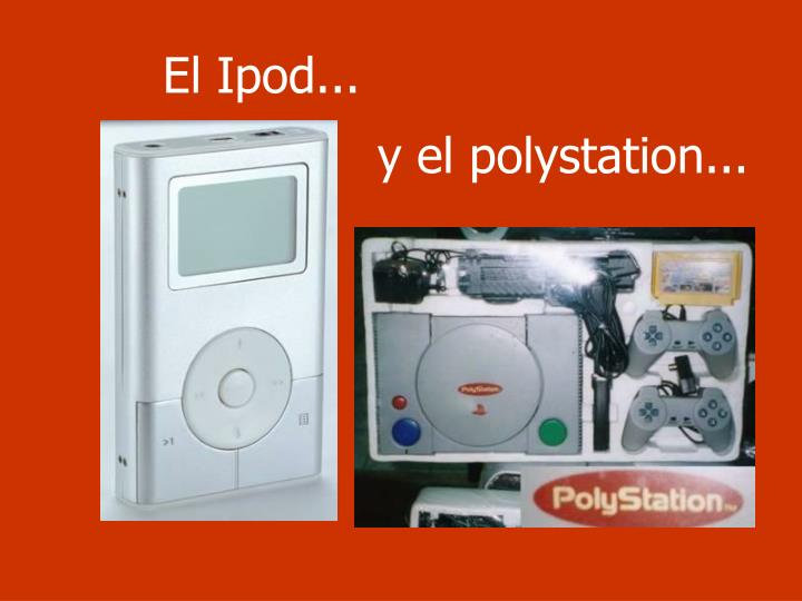 El Ipod...