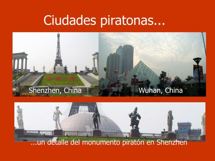 Ciudades piratonas...