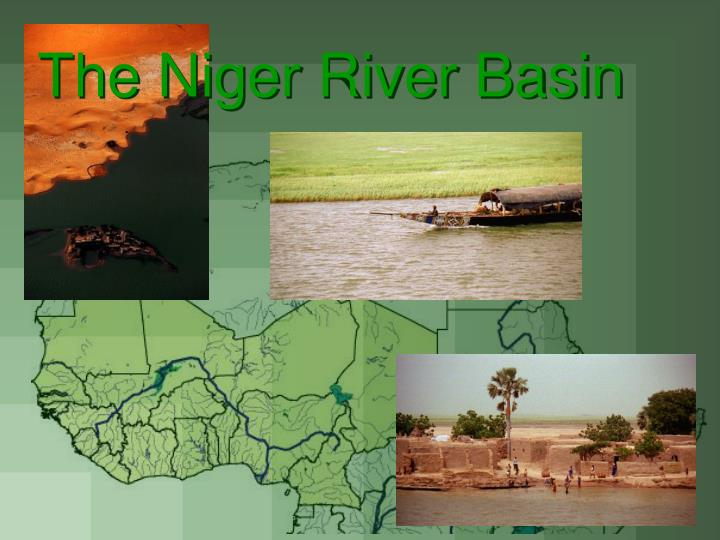 the niger river basin n.