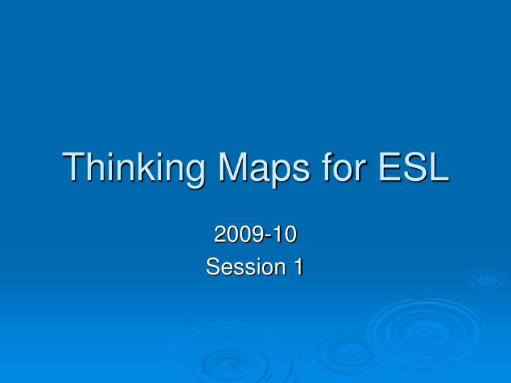 thinking maps for esl n.