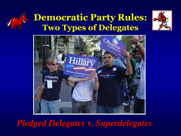 Democratic Party Rules:
