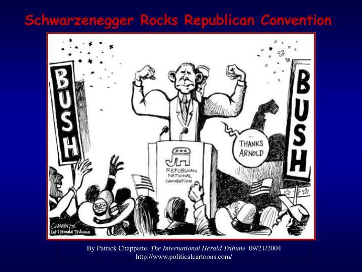 Schwarzenegger Rocks Republican Convention