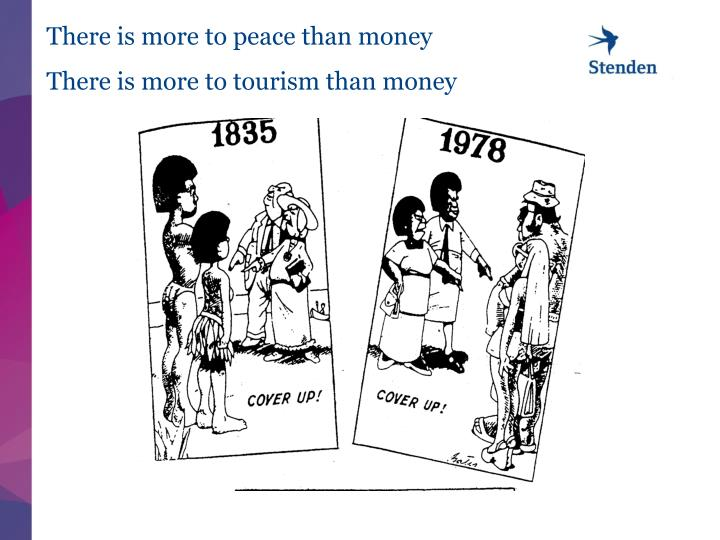 There is more to peace than money