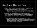 storylines then and now12