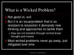 what is a wicked problem