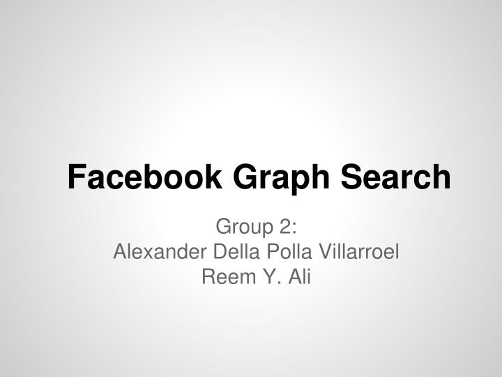 facebook graph search n.