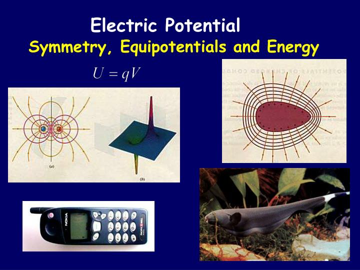 symmetry equipotentials and energy n.