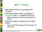 mp3 frames