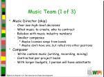 music team 1 of 3