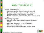 music team 2 of 3