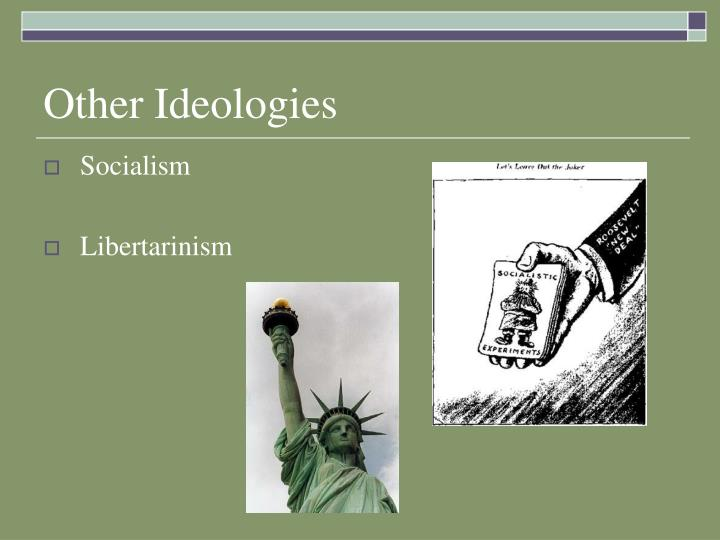 political ideology and socialization essay Political socialization refers to the process by which people develop political beliefs and values that lead to longtime political affiliation (rimmerman, 2001, p 170) this development of this process could be in the short or long term.