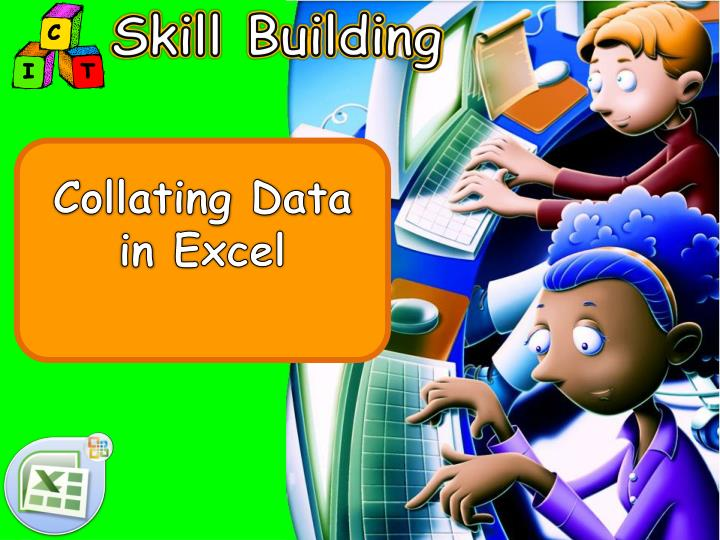 collating data in excel n.