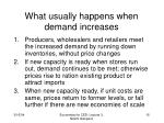 what usually happens when demand increases