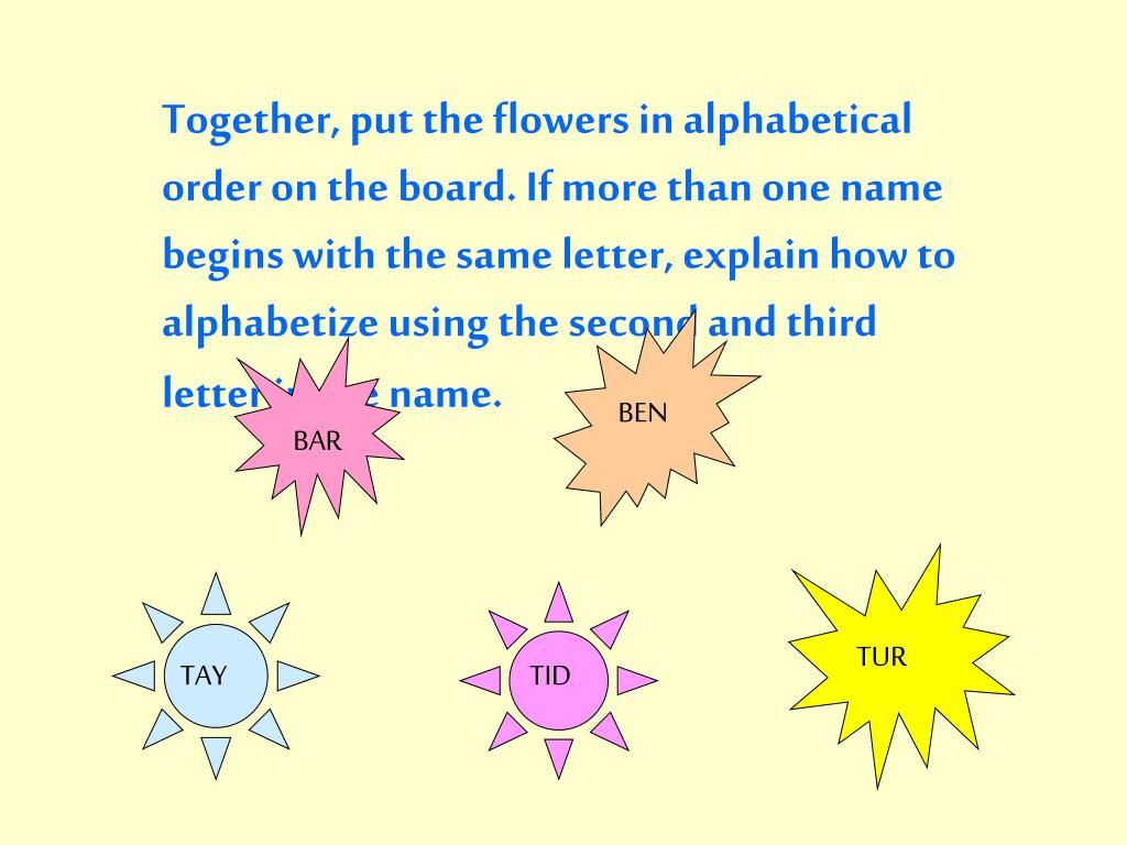 PPT - Easy Fiction Shelf Order PowerPoint Presentation - ID