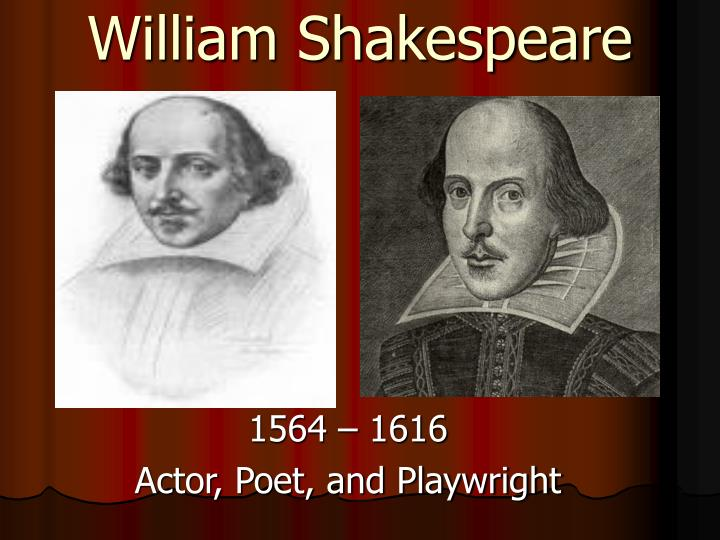 a description of william shakespeare a supreme english poet and playwright