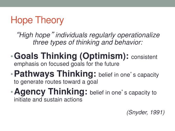 Hope Theory