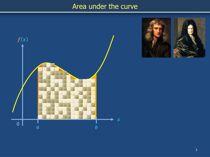 Area under the curve