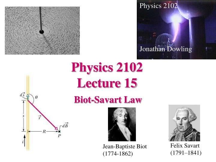 physics 2102 lecture 15 n.