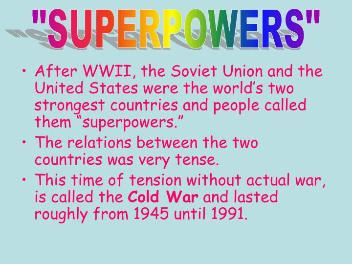 """""""SUPERPOWERS"""""""