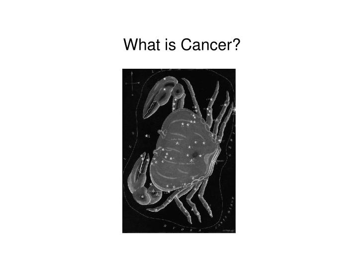 what is cancer n.