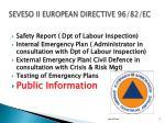 seveso ii european directive 96 82 ec