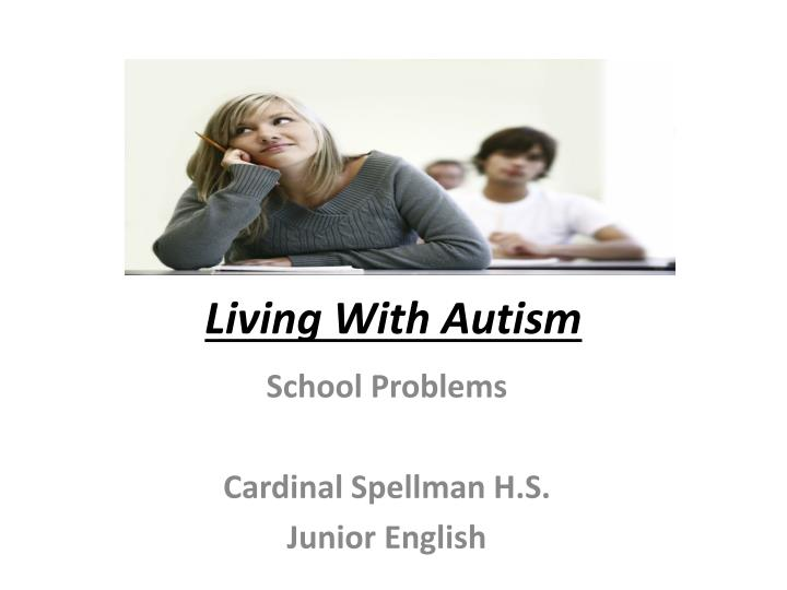 living with autism n.