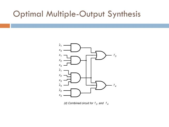Optimal Multiple-Output Synthesis