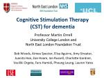 cognitive stimulation therapy cst for dementia