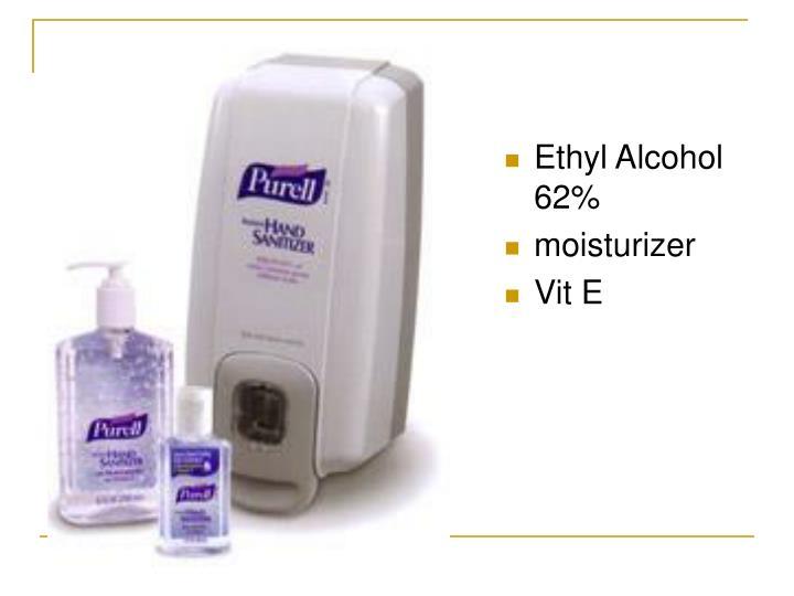 Ethyl Alcohol 62%
