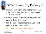 diffie hellman key exchange 1
