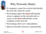 why networks matter