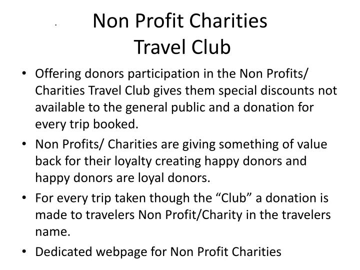 Non Profit Charities