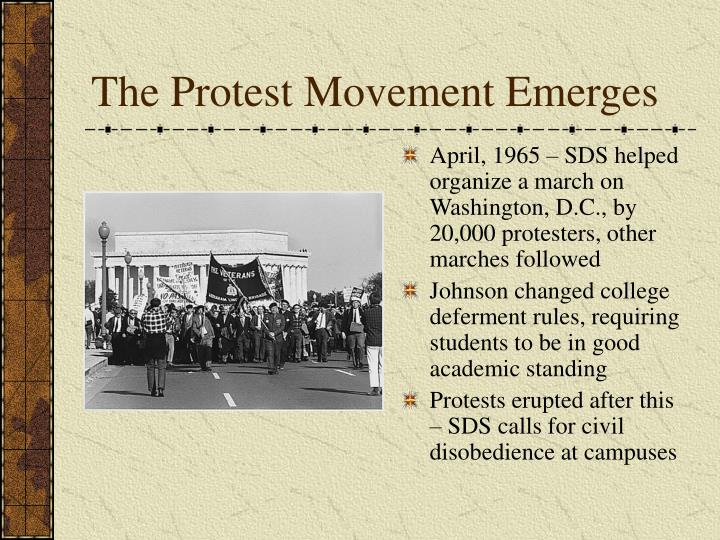 The Protest Movement Emerges