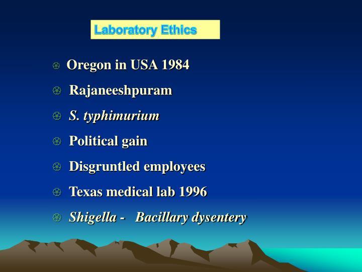 Laboratory Ethics