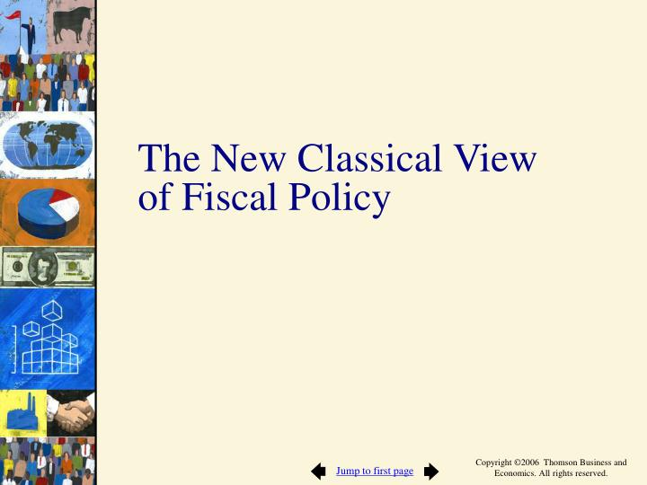 The New Classical View