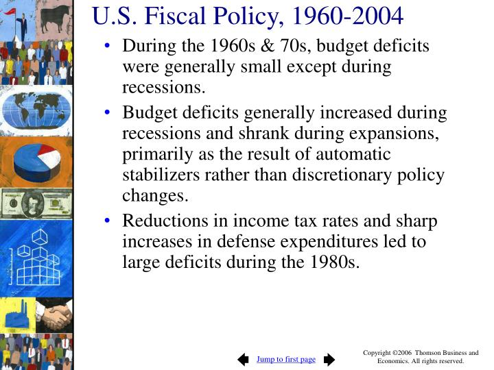 U.S. Fiscal Policy, 1960-2004