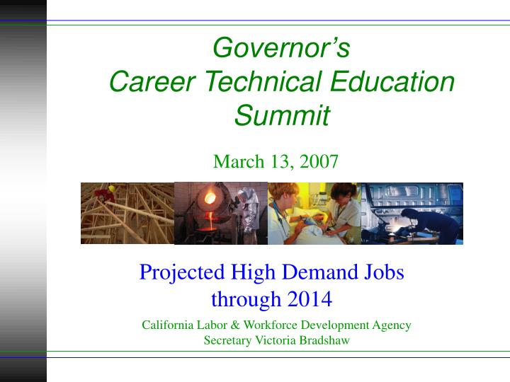 governor s career technical education summit n.